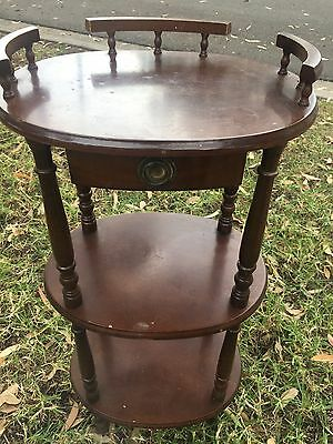Ornate Wooden Side Table