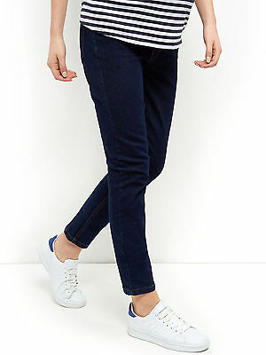 New Look (ex) Maternity Dark Denim Under Bump Skinny Jeans Size 8-20 (16)