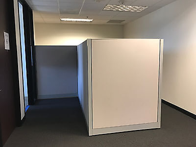 Office Cubicle Partitions / Wall Divider Modular - USED