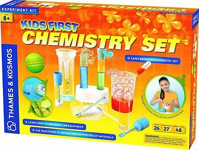 Fun Filled Educational Actual Experiment Kids First Chemistry Science Kit Set