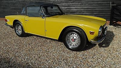 1974 TRIUMPH TR6 with overdrive
