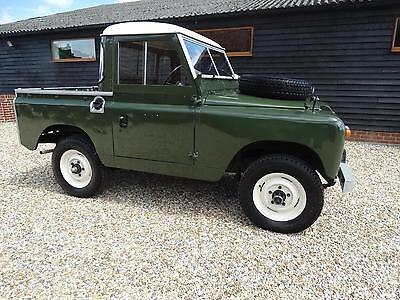 1968 Land Rover 2A 88 Inch Swb Pick Up