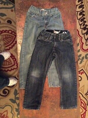 Boys Levi Jeans Lot Size 6