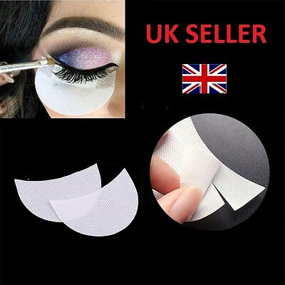 Quality Makeup Eye Shadow Mascara Shields Pads Guards Stickers Protector Eyelash