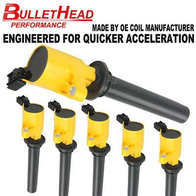New Pack of 6 Ignition Coils for 3.0L V6 Ford Escape Mazda Mercury FD502 DG500
