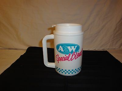 A&w Root Beer  Whirley Coffee Cup Mug Plastic Travel A&w Special Blend
