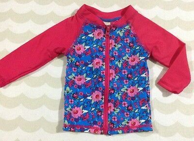 Young Hearts By Collette Dinnigan Baby Girls Rashie Top Size 0 New