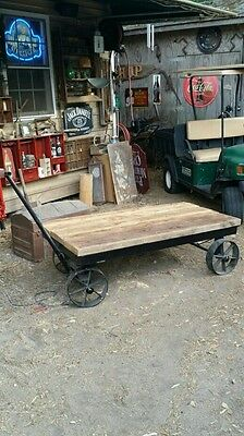 Old Mill Cart Coffee Table