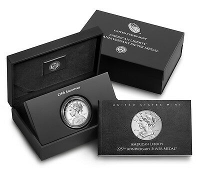2017 P 225th Anniversary American Liberty Silver Medal 17XB