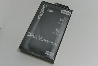 New in Box OEM Incipio Offgrid Express Backup Battery Black Case For iPhone 6/6s