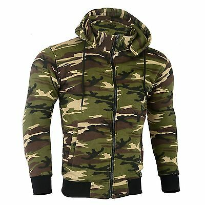 Made with Kevlar Motorcycle Motorbike Hoodie Jacket Zip Up Removable CE Armoured