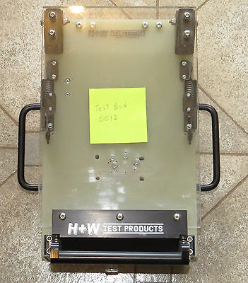 PCB Test Fixture Jig Box 0012, H+W, Bed of Nails probe fixture