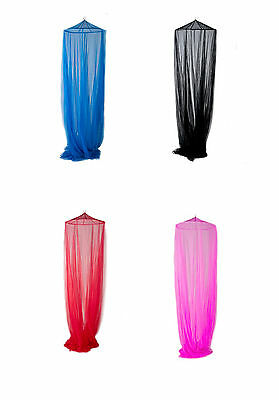 Mosquito net Extra- Large, circular, suitable for all bed sizes, 5 colours
