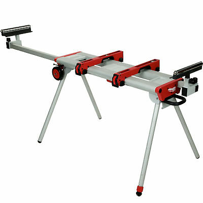 "Universal Miter Saw Stand 9.5'/119"" Fully Extended Milwaukee 48-08-0550 New"