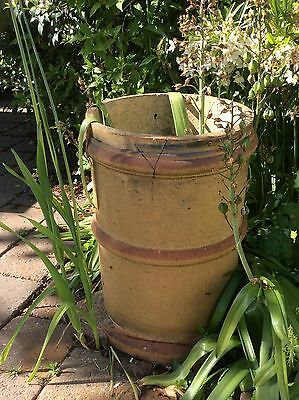 Vintage Chimney Pot Garden Feature / Planter ornament old clay