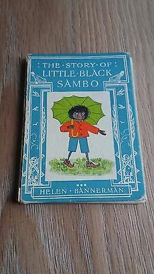 "Vintage ""the Story Of Little Sambo""  Book By Helen Bannerman"