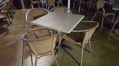 Commercial Outdoor Chairs for a Cafe or restaurant