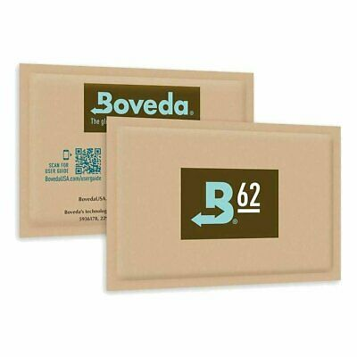 Boveda 67 Gram 62% RH 2-Way Humidity Control, Large 20 Individual Sealed Packs