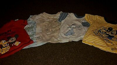 5 BABY BOY 3-6 months  TOPS In EXCELLENT CONDITION