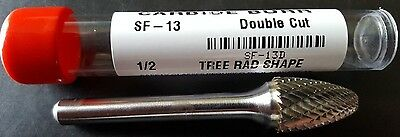 Sf13 Solid Carbide Burr (Double Cut) | Usa | Qty: 1