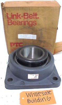 "Link Belt Bearing, 4 Bolt Flange Bearing, F255, Bore 3-7/16"", 7-1/4"" Length"