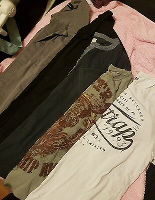 mens bundle size M medium river island & fire trap