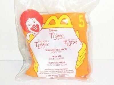 2000 McDonald's Happy Meal Toy: The Tigger Movie- Winnie the Pooh Soft Toy #5 by
