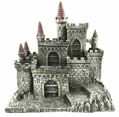 Medieval Castle Fortress Kingdom For Miniature Display Stand Figurine Statue