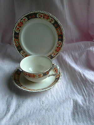 Vintage DERBYSHIRE Cup Saucer and Plate