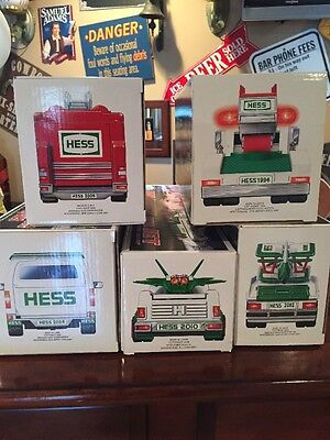 Vintage hess toy truck Lot NIB