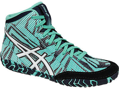 NEW! ASICS Aggressor 3 LE Geo Mens Wrestling Shoes Limited Edition size 7