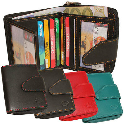 Old River Leather Purse Bolt Wallet Wallet Mini Wallet Unisex