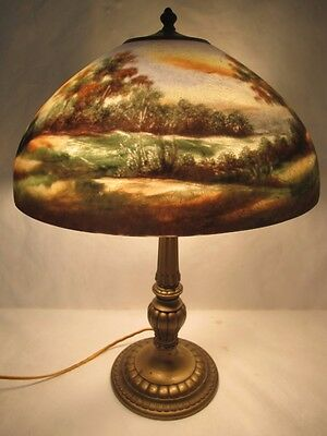 Magnificent C. 1910 The Best Jefferson Lamp Signed Numbered And Artist Initialed