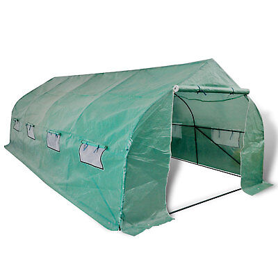 Walk In Garden Greenhouse Polytunnel Hothouse Hot House Plant Storage Shed
