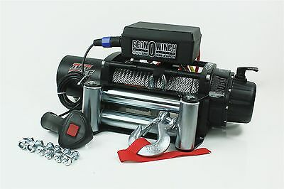 10,000 lbs 12v Electric Winch for Truck, Trailer, Jeep 10000lb Recovery Winch