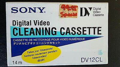 Sony DV 12CL cleaning DV tape