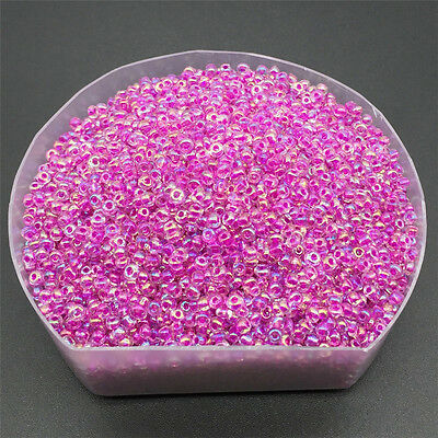 Jewelry Making 2mm DIY 300 Pcs Czech Glass Seed Spacer Beads  YK44
