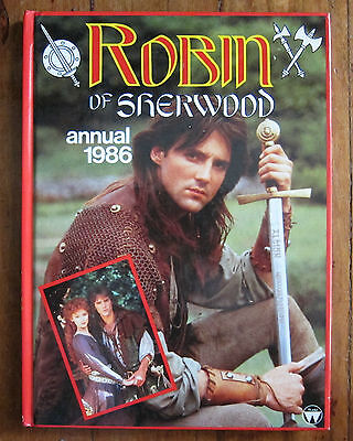 Robin of Sherwood Annual 1986 Hardcover Book by Egmont UK Ltd RARE