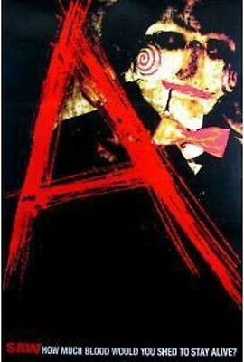 "Saw ""A"" Single Sided Original Movie Poster 27x40 inches"