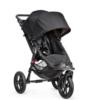 practically new babyjogger city elite w. bassinet and accessories