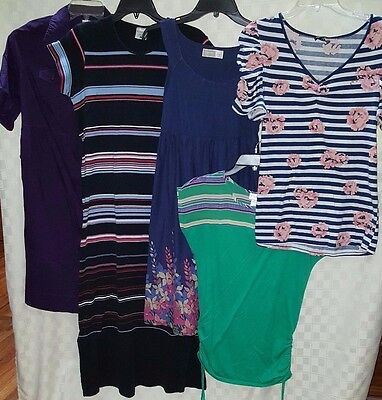 Maternity Lot, SPRING/SUMMER Dresses & Shirts, Size Small - FREE SHIPPING!