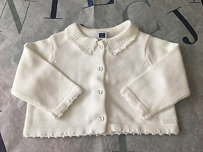 NWT Janie and Jack Baby Girl's Cardigan 3-6 Months