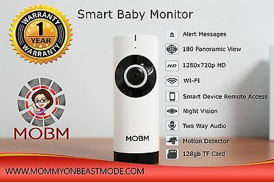 Wireless Wifi Video Baby Monitor Two Way Audio With Night Vision IP Camera