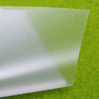 PVC Frosted Plastic Sheet/ Panel/ Plate 200x300x0.3mm/0.5mm For Crafts DIY