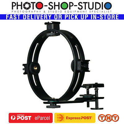 Boling Speedlite Ring Bracket with Adjustable Hotshoe(for up to 4 flashes)#BL-0B