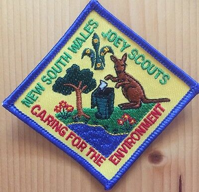 scout badge nsw joey scouts