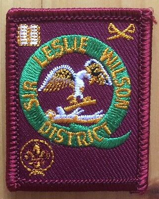 scout badge leslie wilson district qld small size