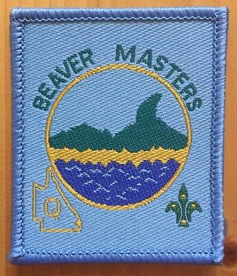 scout badge beaver masters district qld