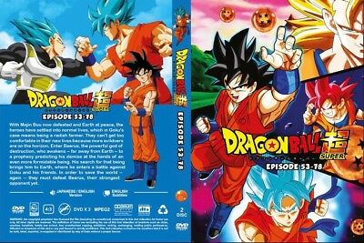 Dragon Ball Super (Episode 53 - 78) ~ 2-DVD SET ~ English Dub Version Anime
