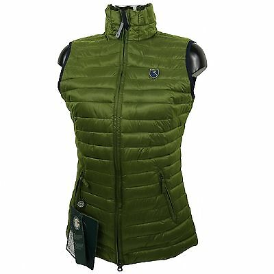 CHERVO Golf Ladies Quilted Vest PRO THERM Elia green 75F gr. 36 new